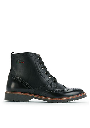 Boots im Brogue-Style