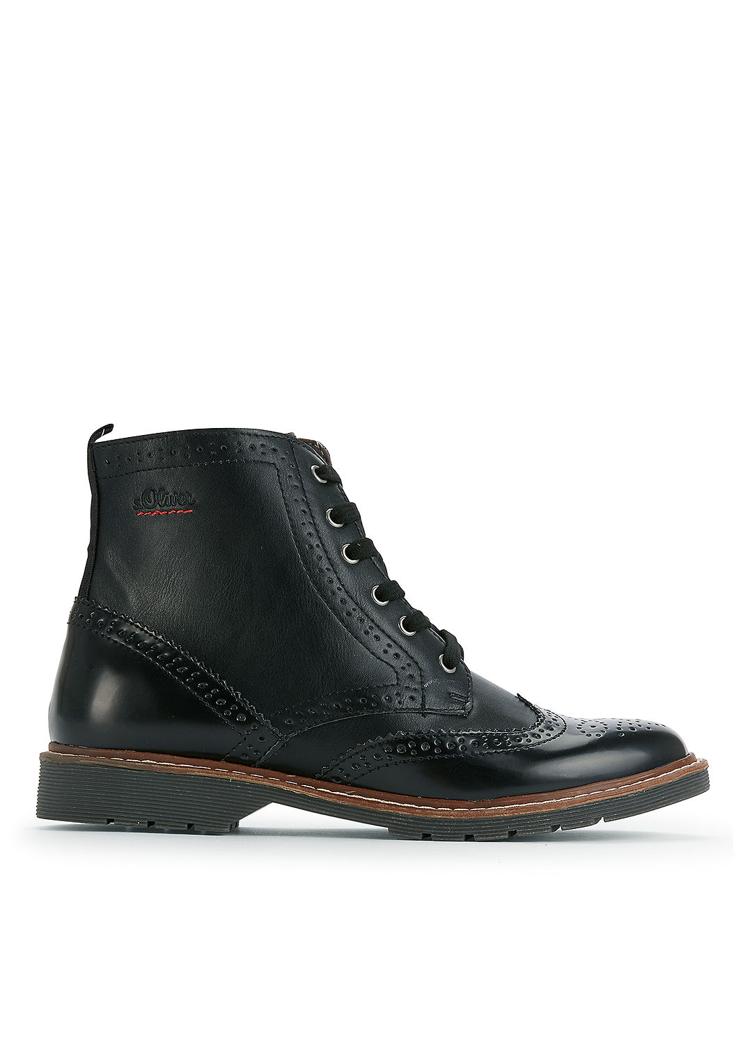s.Oliver Boots im Brogue-Style lWxAdcwR