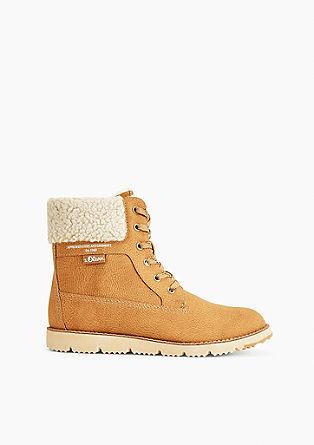 Boots mit Fake Fur