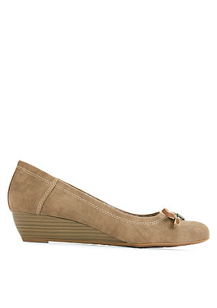 Wedges in een Beierse look