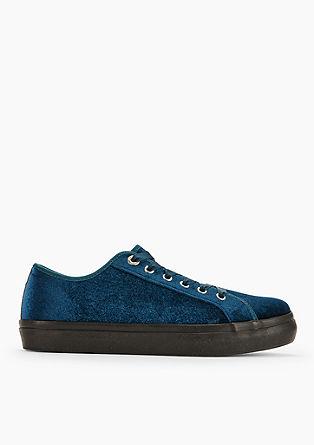 Edle Samt-Sneaker