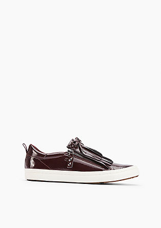 Loafer in Lack-Optik