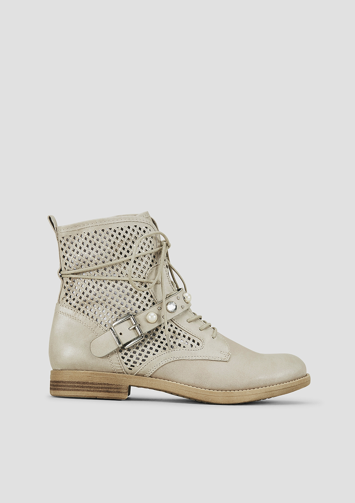 Sommer-Boots | Schuhe > Boots > Sommerboots | Grau/schwarz | Obermaterial aus textil| futter aus textil und synthetik| decksohle aus synthetik| laufsohle aus synthetik | s.Oliver