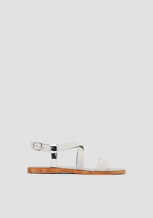 Sandalen met sierkraaltjes