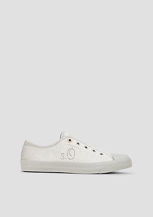 Slip-On Sneaker aus Samt