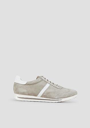 Sportive Leder-Sneaker
