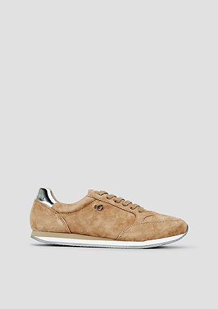 Sneakers van suède