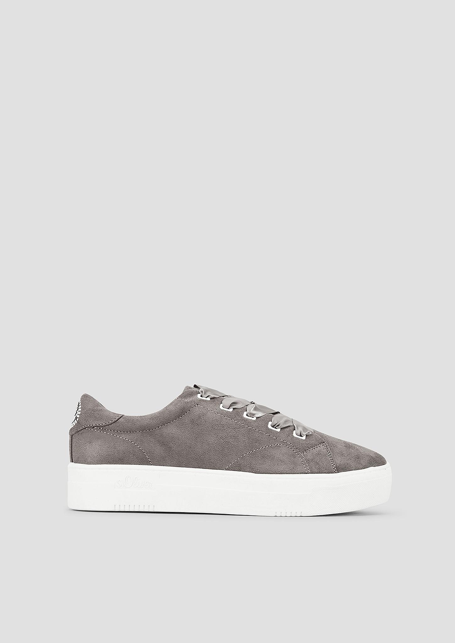 Plateau-Schnürer | Schuhe > Schnürschuhe | Braun | Obermaterial -  futter und decksohle aus textil| laufsohle aus synthetik | s.Oliver