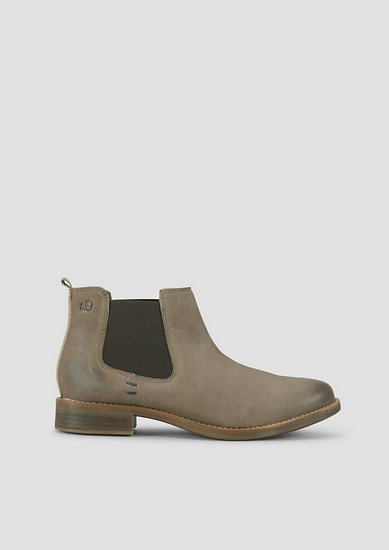 Chelsea-Boots im Vintage-Look