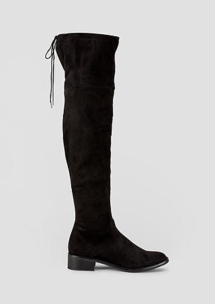 Modische Overknee-Stiefel