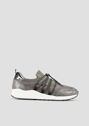 Leichte Sneaker mit Metallic-Detail