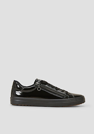 Sneaker mit Deko-Zipper