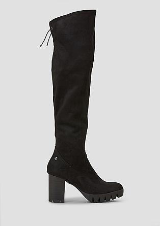 Overknee-Stiefel mit Absatz