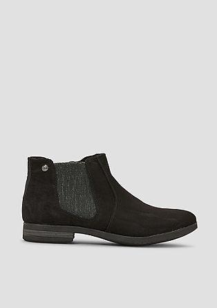 Chelsea Boots in Wildleder-Optik