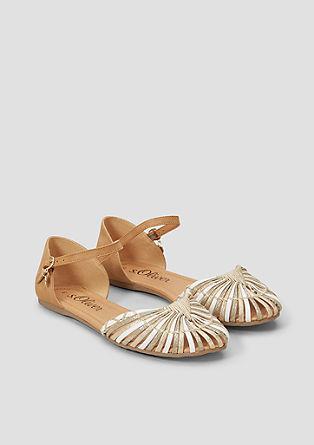 Elegante Riemchen-Ballerinas