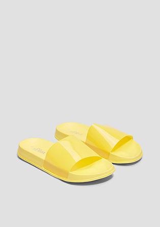 Trendy pool slides