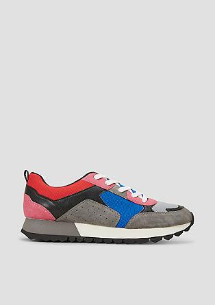 SO HYB: modieuze sneakers van een materiaalmix