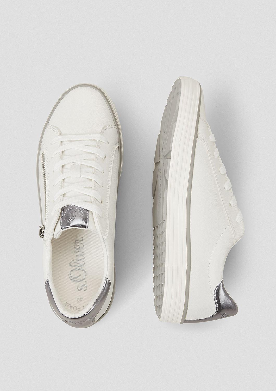s.Oliver - Sneaker mit Deko-Zipper - 3