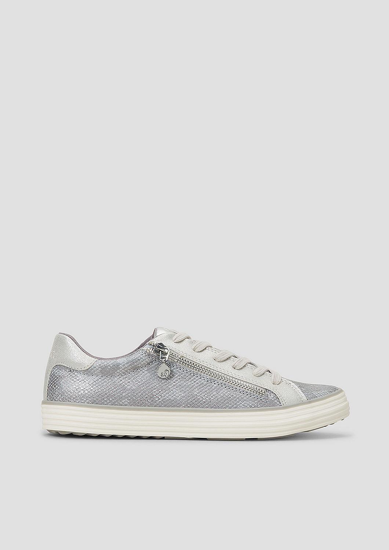 s.Oliver - Sneaker mit Deko-Zipper - 1