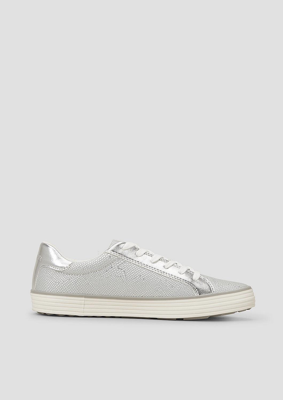 s.Oliver - Sneaker mit Deko-Zipper - 4