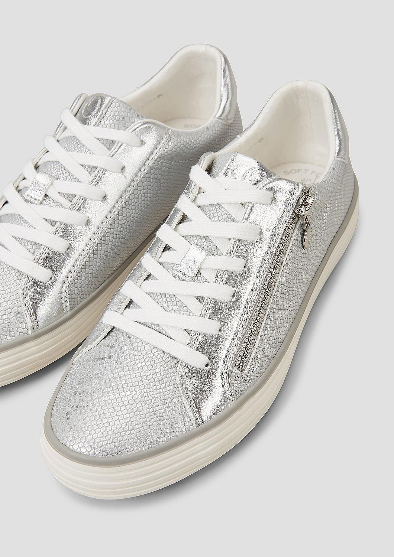 s.Oliver - Sneaker mit Deko-Zipper - 5