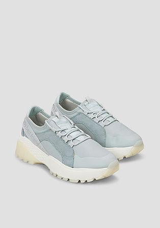 Chunky Sneaker im Metallic-Look
