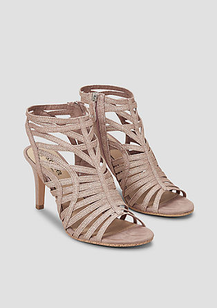 Sandalen met glitter
