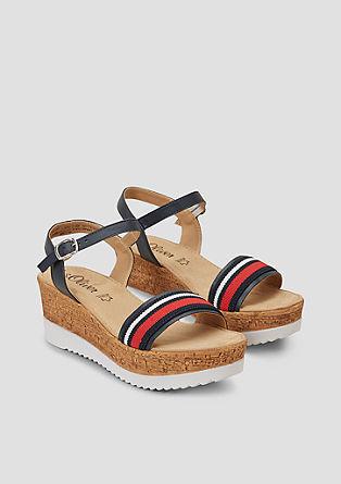 Sandalen mit Plateau-Sohle