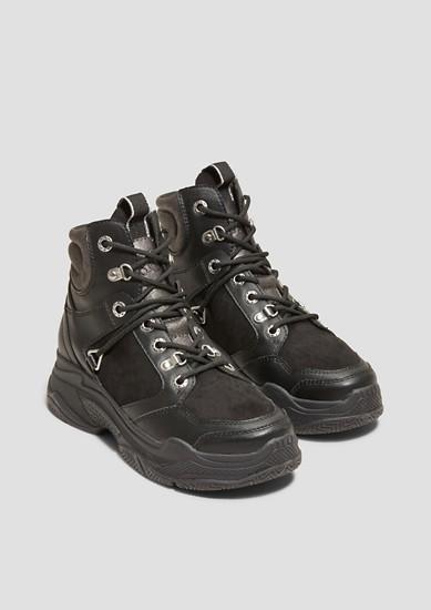 Visoki športni čevlji z debelim podplatom