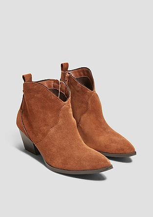 Boots de cowboy en cuir velours de s.Oliver