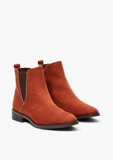 Chelsea Boots aus Velours