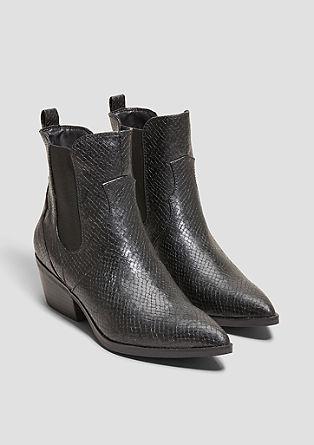 Western boots en similicuir de s.Oliver