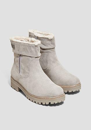 Boots mit Plüschfutter