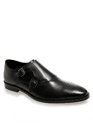 Elegante Slipper aus Leder