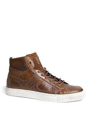 High Sneaker aus Leder
