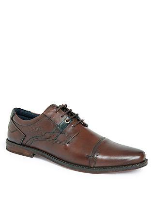 Čevlji z vezalkami iz pravega usnja
