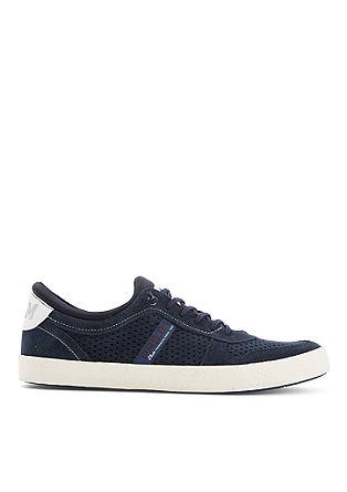 Slip-on Sneaker aus Leder