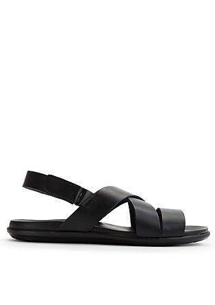 Schlichte Leder-Sandalen