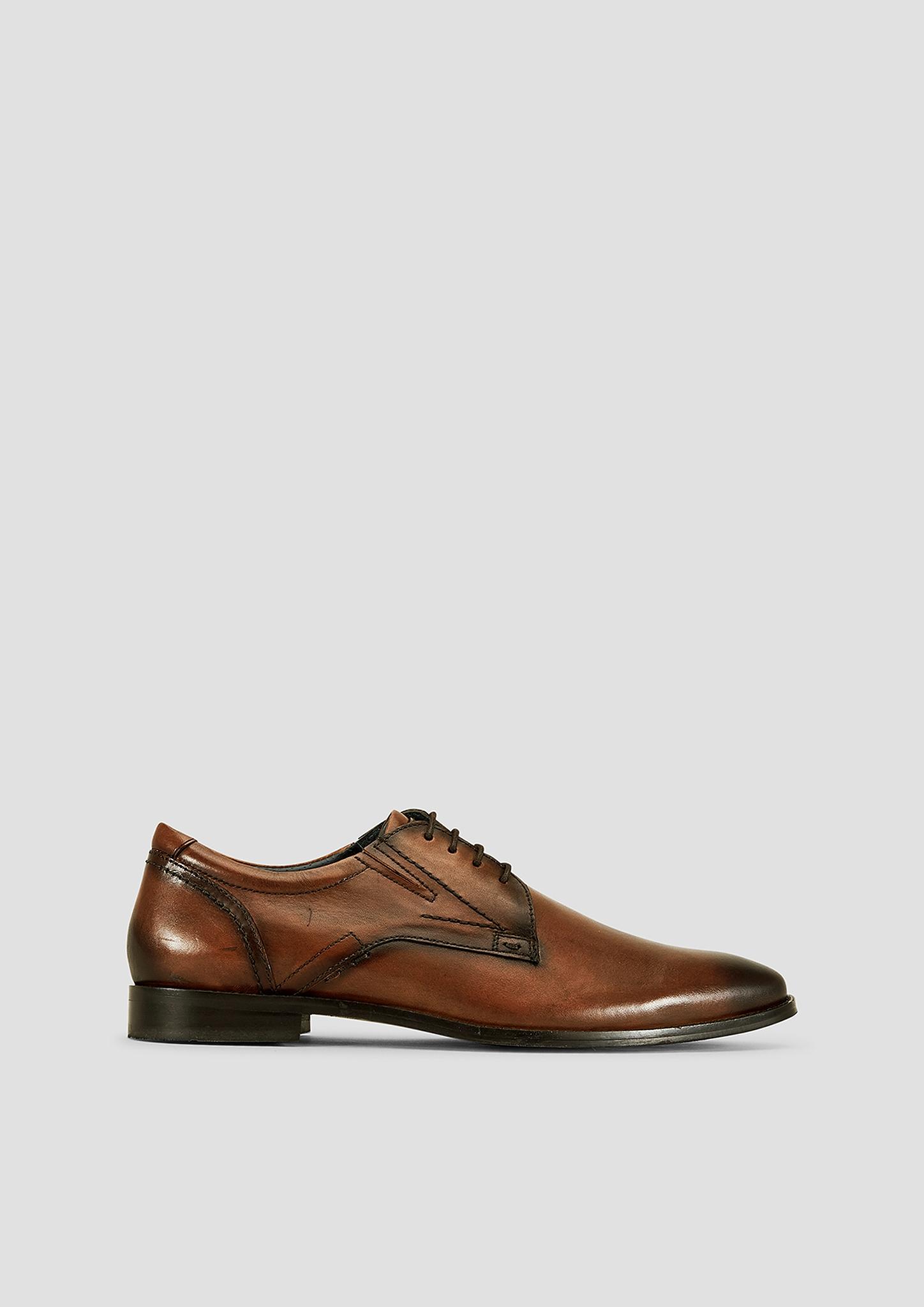 Lederschnürer | Schuhe | Braun | Obermaterial aus leder| futter und decksohle aus leder| laufsohle aus synthetik | s.Oliver