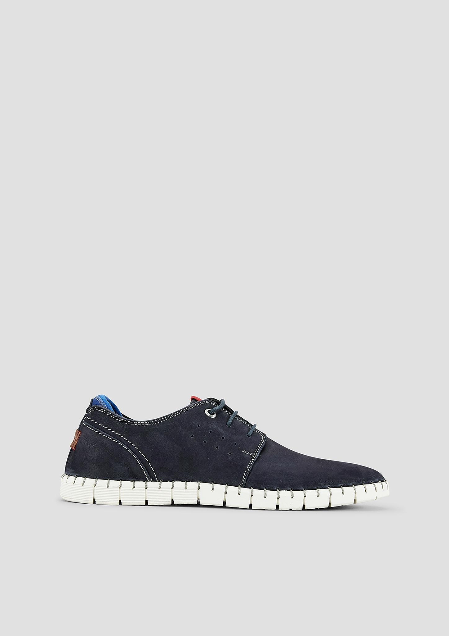 Schnürer | Schuhe > Schnürschuhe | Blau | Obermaterial aus textil und echtleder| futter und decksohle aus textil und echtleder| laufsohle aus synthetik | s.Oliver