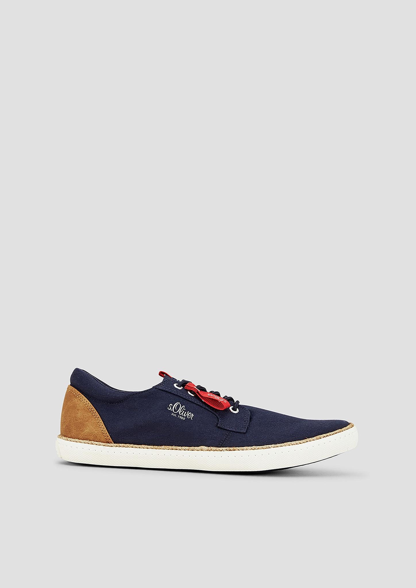 Schnürer | Schuhe > Schnürschuhe | Blau | Obermaterial aus textil und synthetik| futter aus textil| decksohle aus textil und synthetik| laufsohle aus synthetik | s.Oliver