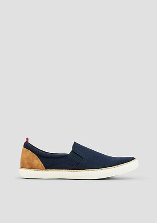 Leichte Canvas-Slip On Sneaker