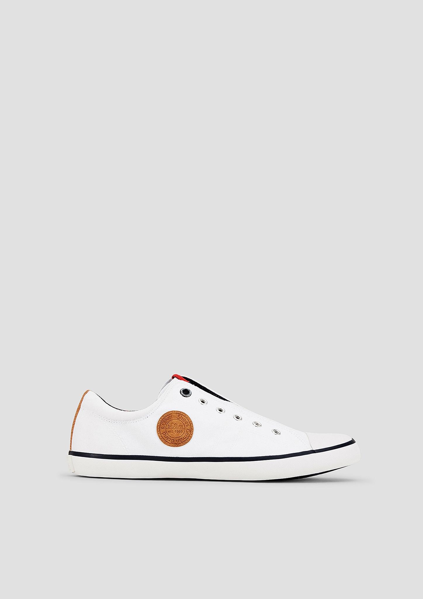 Slip-on-Sneaker | Schuhe > Sneaker | Weiß | Obermaterial und decksohle aus textil und synthetik| futter aus textil| laufsohle aus synthetik | s.Oliver