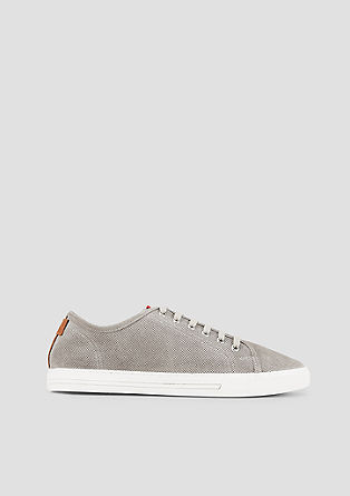 Leichte Sneaker aus Leder