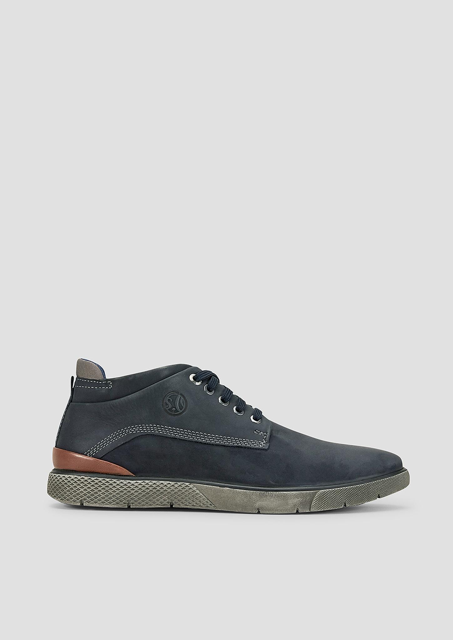 Schnürer | Schuhe > Schnürschuhe | Blau | Obermaterial aus leder und synthetik| futter aus textil| decksohle aus leder und textil| laufsohle aus synthetik | s.Oliver