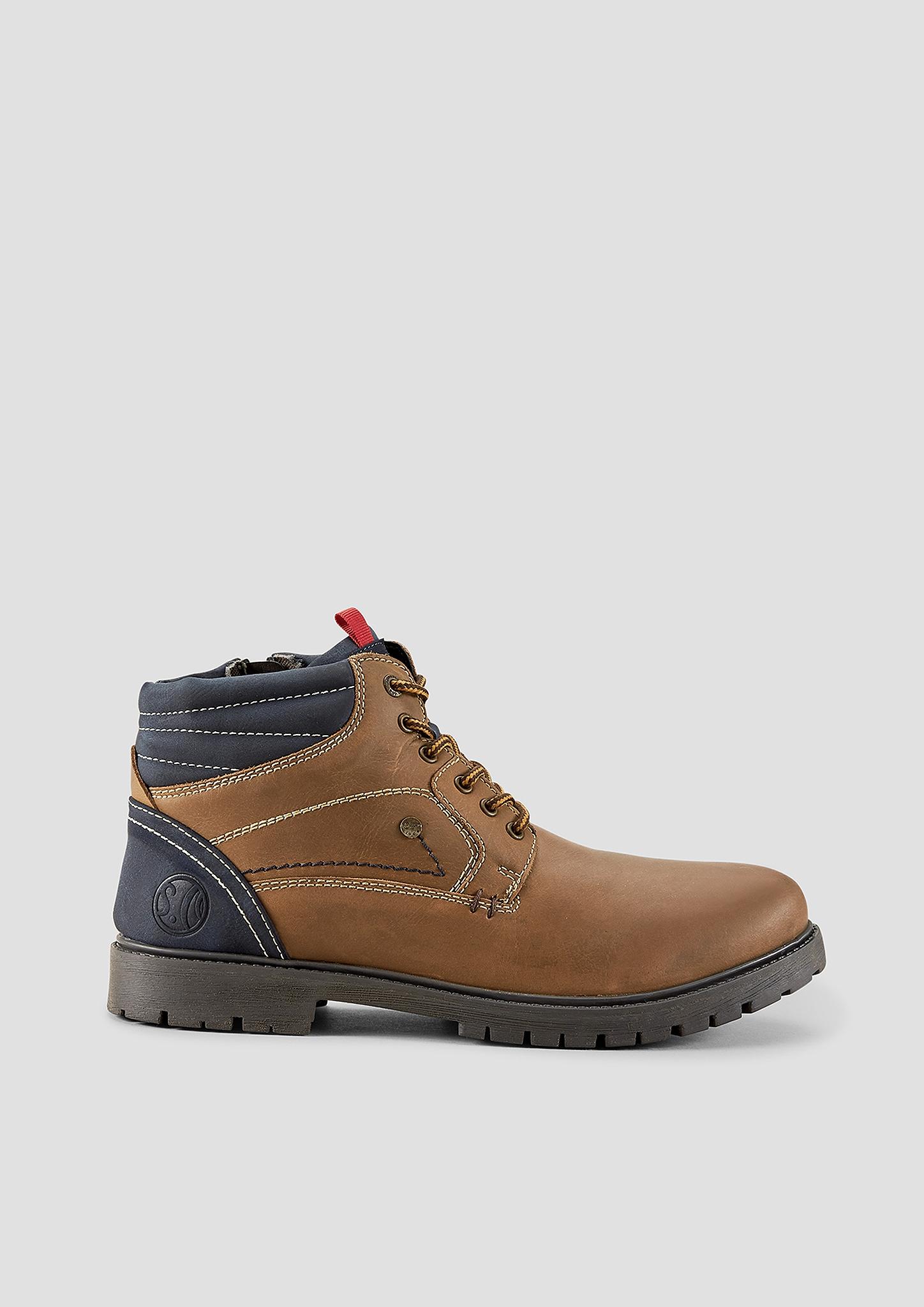 Stiefel | Schuhe | Braun | Obermaterial aus leder und textil| futter aus textil| decksohle aus textil und synthetik| laufsohle aus synthetik | s.Oliver
