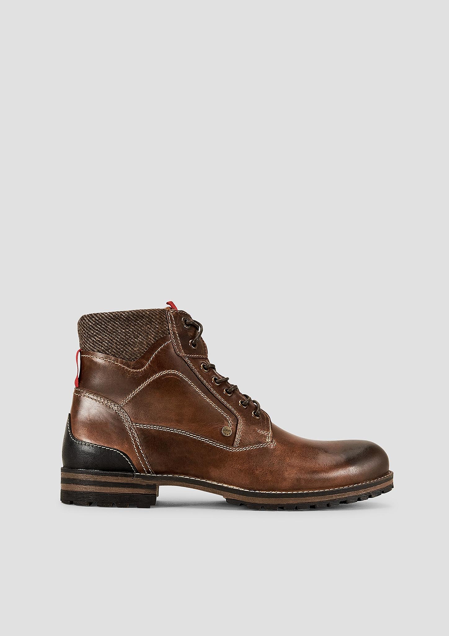Stiefel | Schuhe | Braun | Obermaterial aus leder und textil| futter aus leder und textil| decksohle aus leder| laufsohle aus synthetik| | s.Oliver