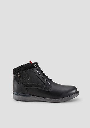 Stevige leren boots