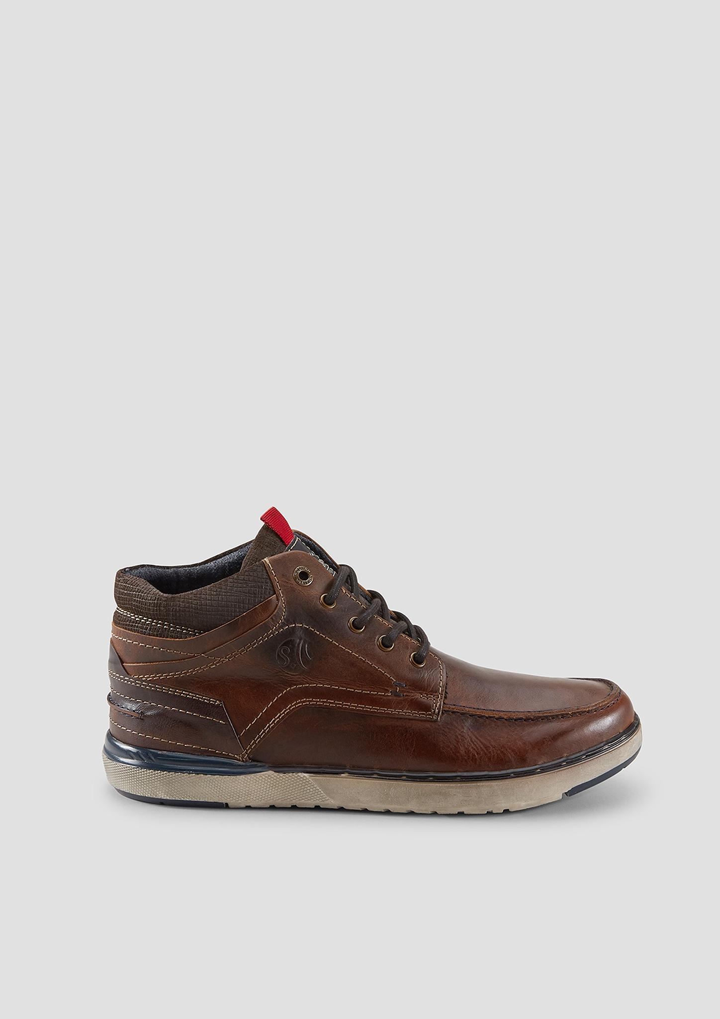 Stiefel   Schuhe > Boots   Braun   Obermaterial aus leder  futter aus textil  decksohle aus textil und leder  laufsohle aus synthetik   s.Oliver