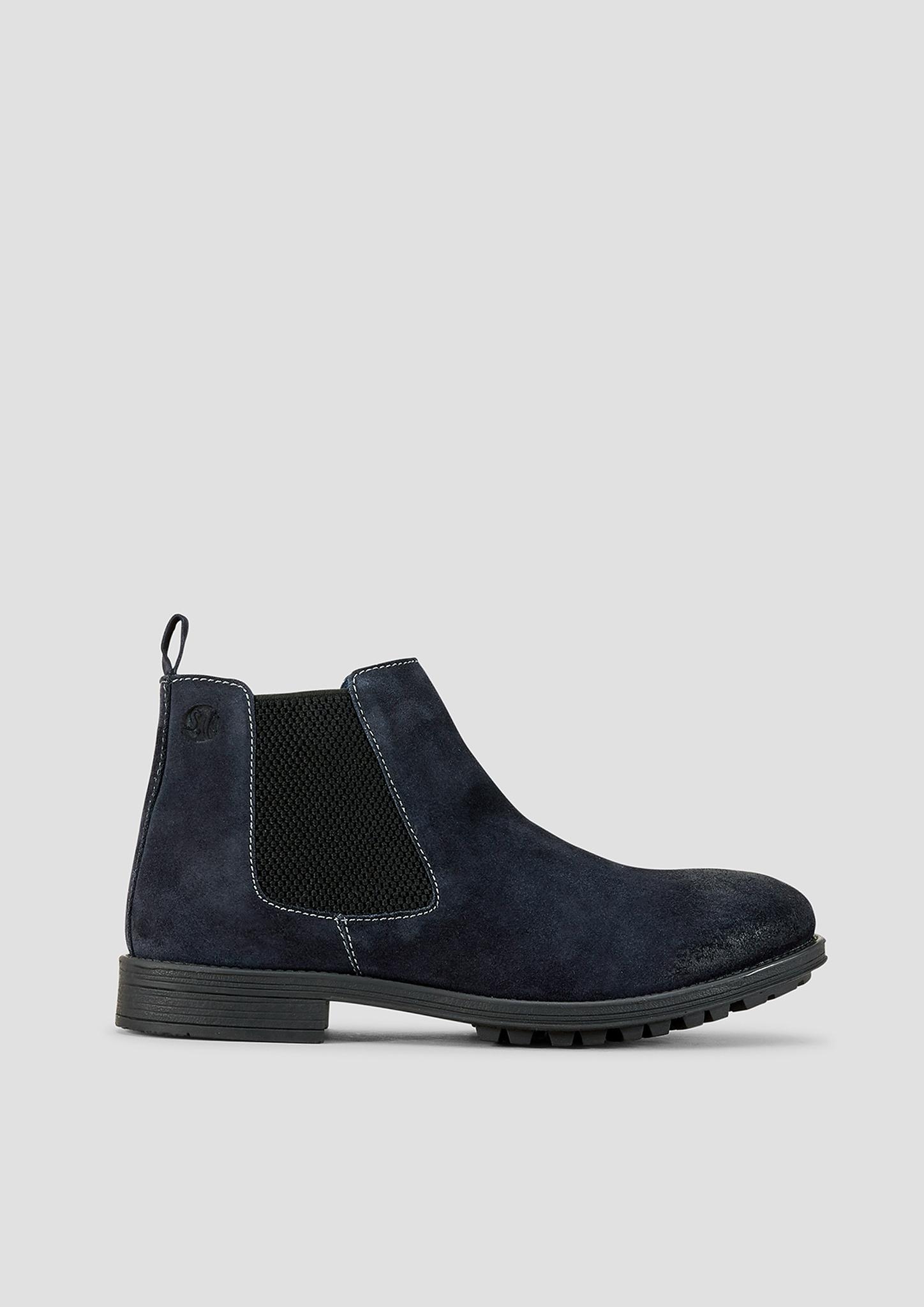Stiefel | Schuhe > Boots > Stiefel | Blau | Obermaterial aus leder| futter aus textil und leder| decksohle aus leder| laufsohle aus synthetik | s.Oliver